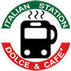 the italian station logo in downtown fredericksburg