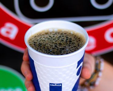 a cup of italian lavazza coffee that redirects to our coffee menu