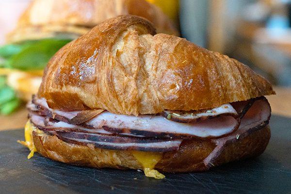 ham and cheddar